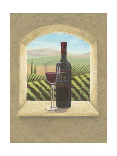 Vineyard Vista II-Joelle McIntyre-Art Print