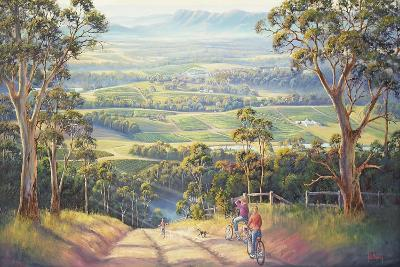 Vineyard Vista-John Bradley-Giclee Print