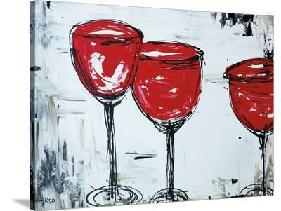 Vino 33-Annie Rodrigue-Stretched Canvas Print
