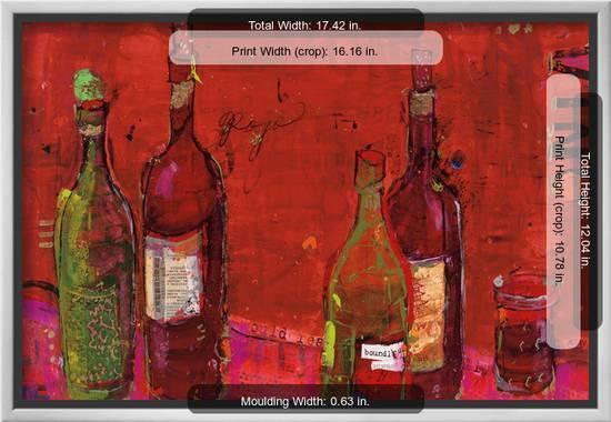 Vino Rojo Art Print Kellie Day Art Com