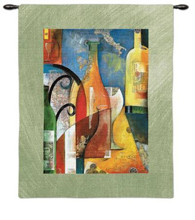 Vino-Andy Powell-Wall Tapestry