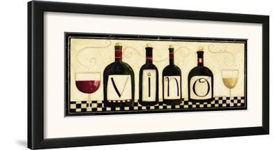 Vino-Dan Dipaolo-Framed Art Print