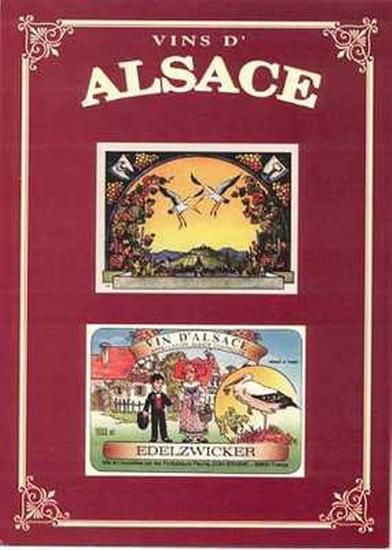 Vins d'Alsace--Art Print