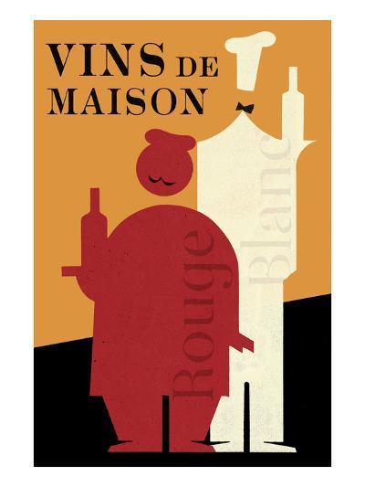 Vins de Maison-Hugo Wild-Art Print