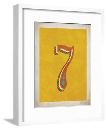 Vintage 7-Kindred Sol Collective-Framed Art Print