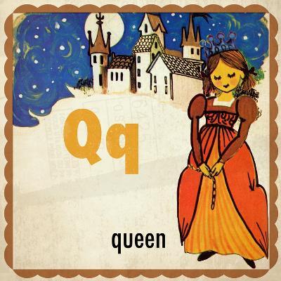 Vintage ABC-Q--Giclee Print