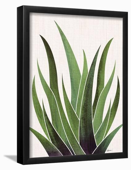 Vintage Agave-Modern Tropical-Framed Art Print