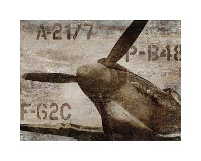 Vintage Airplane-Dylan Matthews-Giclee Print