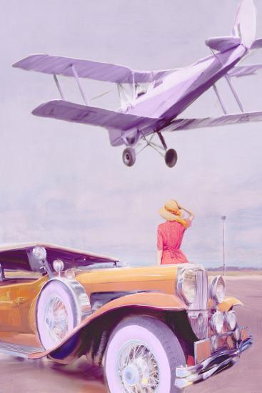 Vintage Airport-Anna Polanski-Art Print