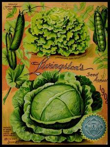 Annual Of True Blue Lettuce by Vintage Apple Collection