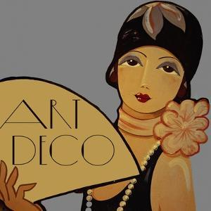 Art Deco Flapper by Vintage Apple Collection
