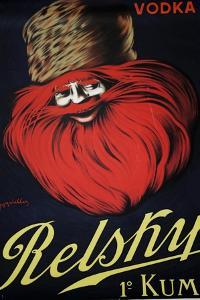 Belsky Vodka Ret by Vintage Apple Collection