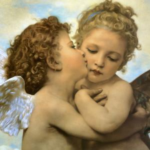 Bouguereau, Angels and cupids by Vintage Apple Collection