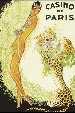 Casino de Paris, Leopard by Vintage Apple Collection