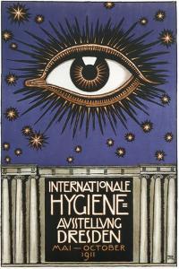 Cosmic Eye International Hygiene by Vintage Apple Collection