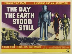 Day Earth Stood Still by Vintage Apple Collection