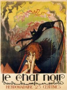 Le Chat Noir 2 by Vintage Apple Collection