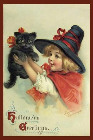 Little Witch and Halloween Kitty