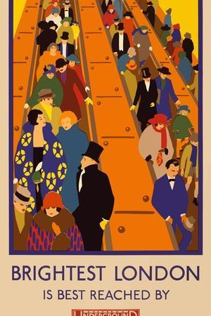 London Underground Brightest London