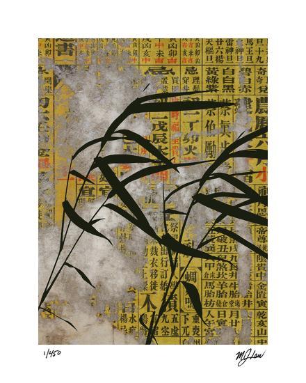 Vintage Asia IV-Mj Lew-Giclee Print