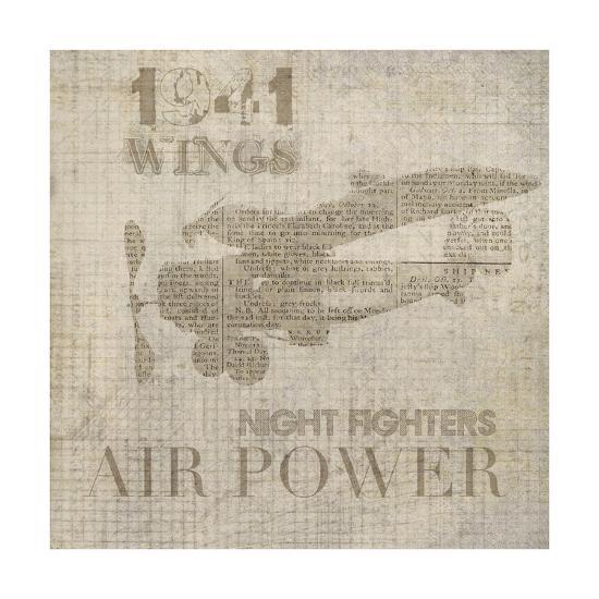 Vintage Aviation I-Irena Orlov-Art Print