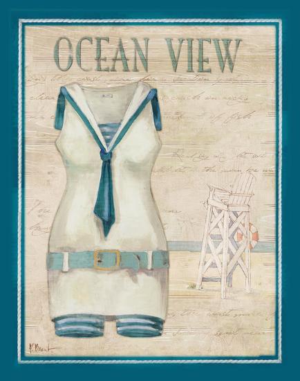 b66919cce44 Vintage Bathing Suit III Art Print by Paul Brent | Art.com