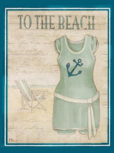 Vintage Bathing Suit IV-Paul Brent-Art Print