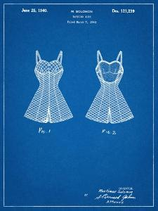 Vintage Bathing Suit Patent 1940