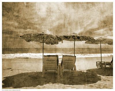 Vintage Beach Seating--Art Print