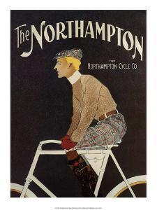 Vintage Bicycle Poster, The Northampton