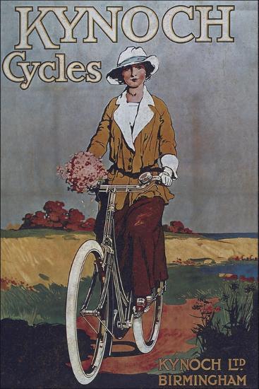 Vintage Bicycle--Premium Giclee Print