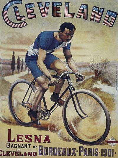 Vintage Bicycle--Giclee Print
