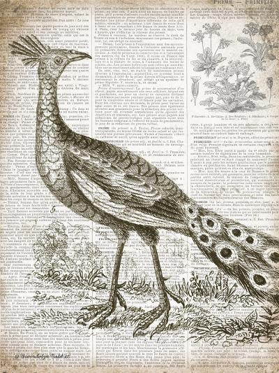 Vintage Bird I-Gwendolyn Babbitt-Art Print