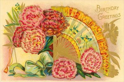 Vintage Birthday Greetings--Art Print