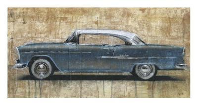 Vintage Blue-Dario Moschetta-Art Print