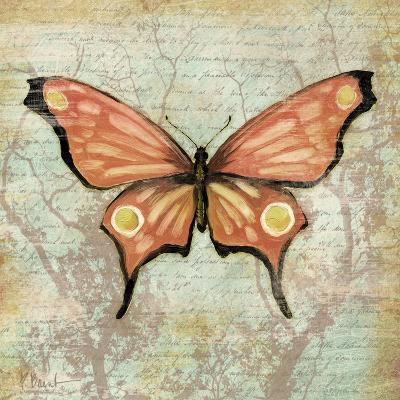 Vintage Butterflies I-Paul Brent-Art Print