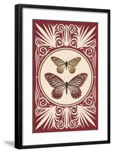 Vintage Butterfly Duo