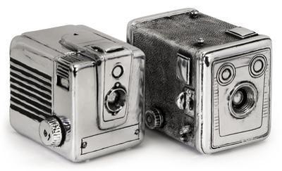Vintage Camera Bookends *
