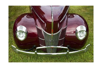 Vintage Car, Close-Up (Front Grille)-Henri Silberman-Photographic Print