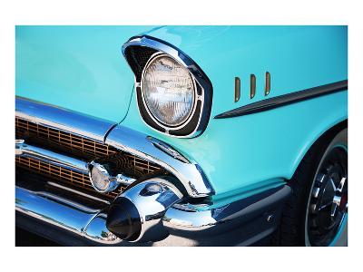 Vintage Car Front Detail--Art Print