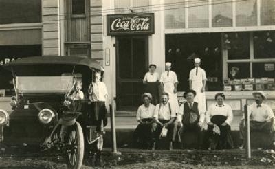 Vintage Car on Main Street