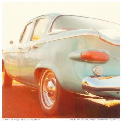 Vintage Car-Mandy Lynne-Art Print