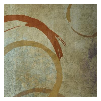 Vintage Circles 2-Kristin Emery-Art Print