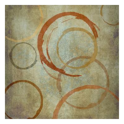 Vintage Circles-Kristin Emery-Art Print