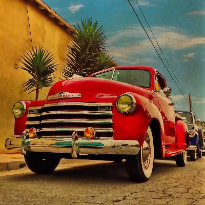 Vintage Classic Truck-Salvatore Elia-Photographic Print
