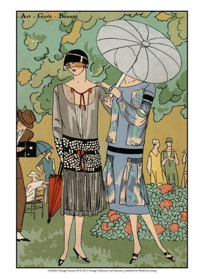 Vintage Couture VI-Unknown-Art Print