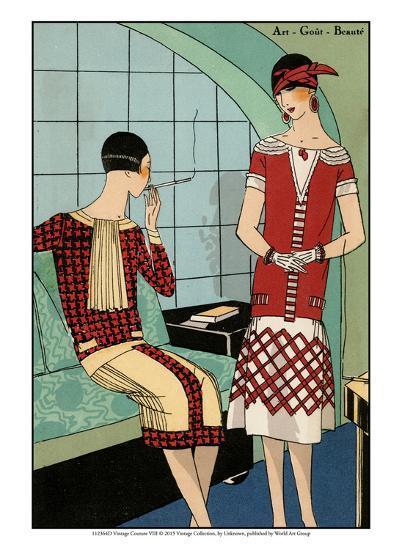 Vintage Couture VIII-Unknown-Art Print