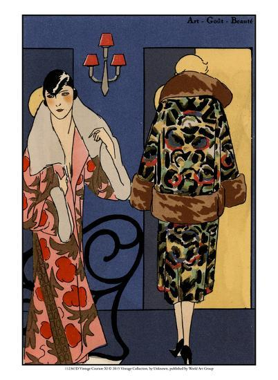 Vintage Couture XI-Unknown-Art Print