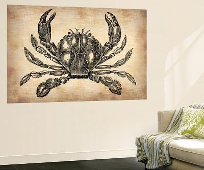 Vintage Crab-NaxArt-Wall Mural
