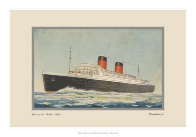 Vintage Cruise I-Unknown-Framed Giclee Print